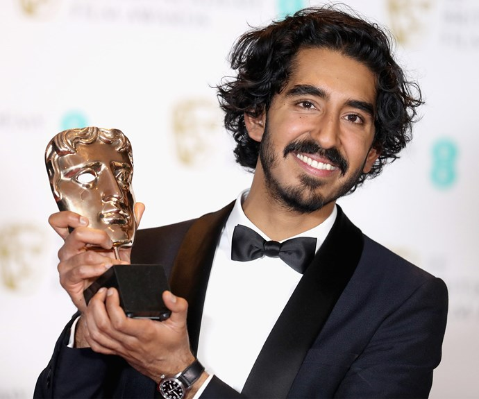 Dev Patel took out the BAFTA for Best Supporting Actor.