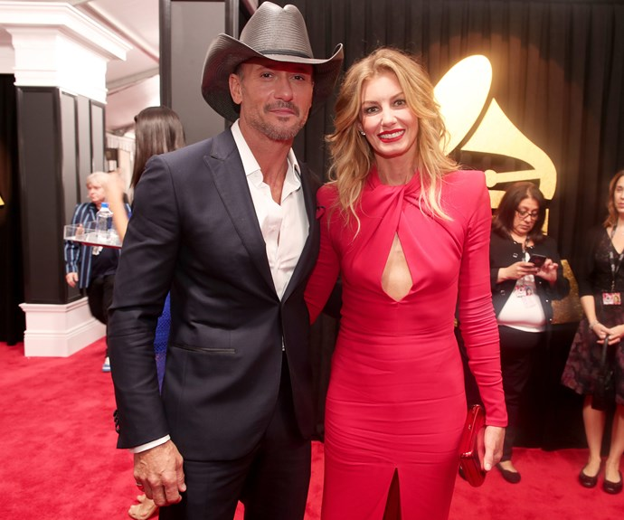 It's date night for Tim McGraw and Faith Hill.