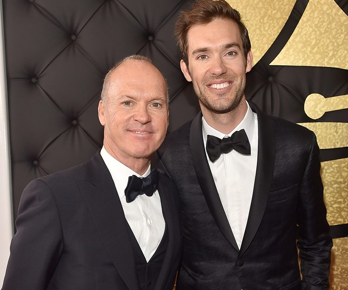 Sean Douglas, who is a songwriter, has been nominated for the Best Country song. In a sweet touch, the 33-year-old brought his dad, actor Michael Keaton, along for the night.