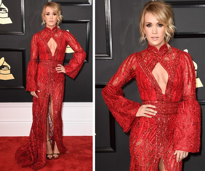 Carrie Underwood is set to perform with Keith Urban later tongiht.