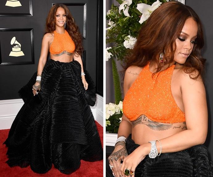 Work it Rihanna!