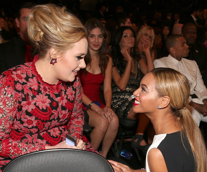 "Upon taking out the Album Of The Year award at this year's Grammys, Adele professed her love for superstar Beyonce, saying she deserved the coveted statue over her. ""My life is Beyonce, and the album to me, the 'Lemonade' album, Beyonce, was so monumental, and so well thought out. I love you. I always have and I always will."""
