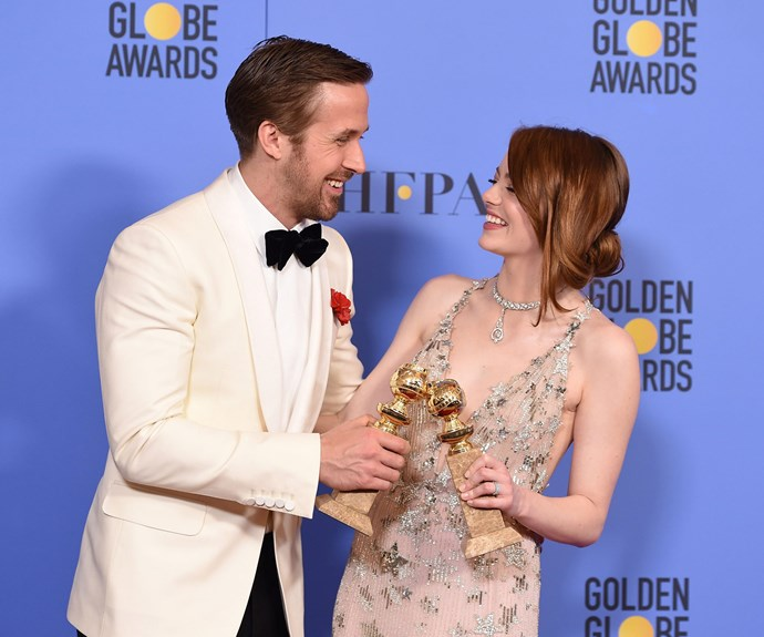 "Their on-screen chemistry is nothing short of fire, but off-screen, Ryan Gosling and Emma Stone are the best of friends.  ""She's everything, all the time. There's no one like her. As soon as she signed on for this movie, I knew it was going to be good,"" Ryan once mused of his two-time co-star."