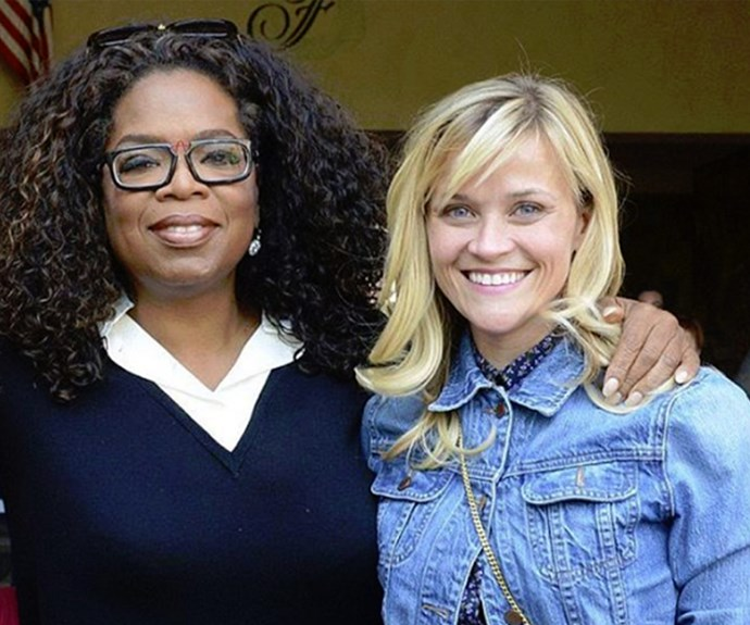 "Reese Witherspoon recently took to Instagram to wish her pal Oprah a very happy birthday. ""#HBD to this bright and beautiful soul!!"""
