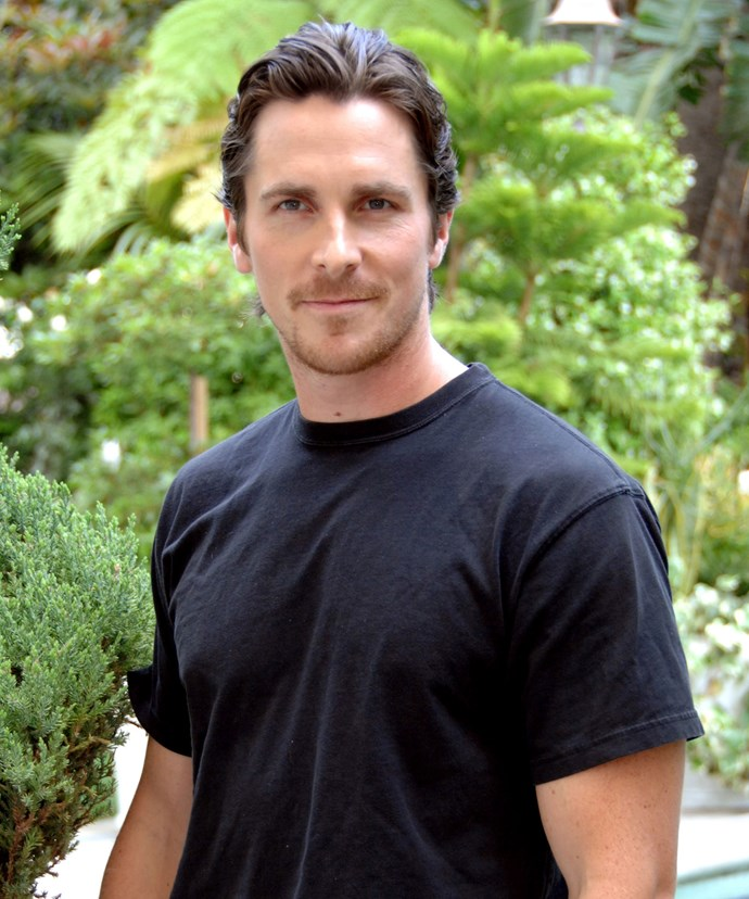 Would you take on the job of checking Christian Bale for B.O.?