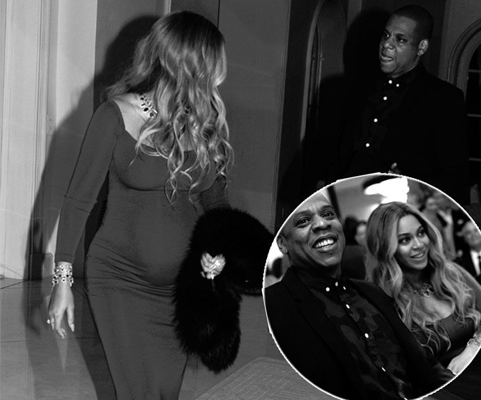 Date night! Expectant parents Beyonce and hubby Jay Z were the picture of love as they made their way through a series of post-Oscars bashes.