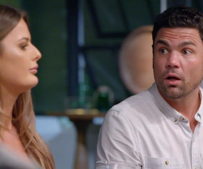 Things get heated between MAFS' Cheryl and Andrew.