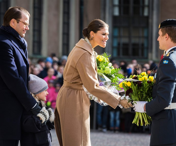 Last year, the Victoria's name day was not celebrated as she had just given birth to her son, Prince Oscar, only ten days earlier. This year to mark the occasion, the palace announced they donated 345,000 Swedish kronor [about $51,000 AUD] to Victoria's foundation that works with children who have a disability.