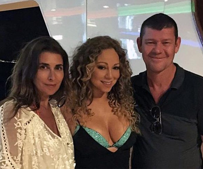 Jodhi joined James and Mariah on holiday in Italy 