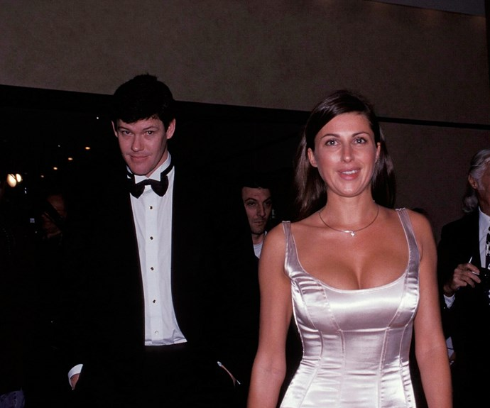 The former couple tied the knot in a lavish ceremony in Sydney in 1999.
