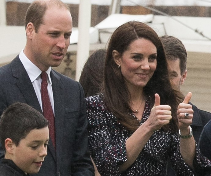 That's a royal thumbs up.