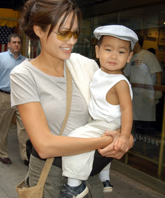 """Angelina insisted she went to """"'great lengths to ensure Maddox did not have a living birth-mother in Cambodia."""""""