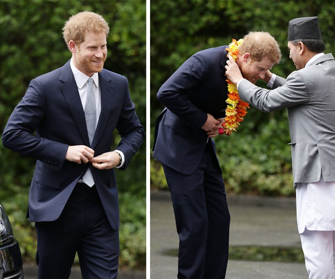 The ginger-haired royal set alight our hearts once again. On Monday, March 20, Prince Harry celebrated the 200th anniversary of the UK and Nepal's friendship.