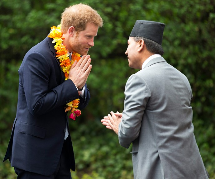 """The royal addressed the crowd at the Nepalese embassy, saying, """"The people of Nepal and the Gurkhas in particular, hold a very special place in the heart of the British public and in my family."""""""