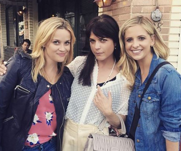 *Cruel Intentions* co-stars Reese Witherspoon, Selma Blair and Sarah Michelle Gellar broke the internet when they posted this pic from a lunch date.