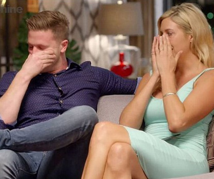 Jesse and Mish's conversations on the commitment ceremony couch have been known to leave the Adelaide-based fruiterer in tears.