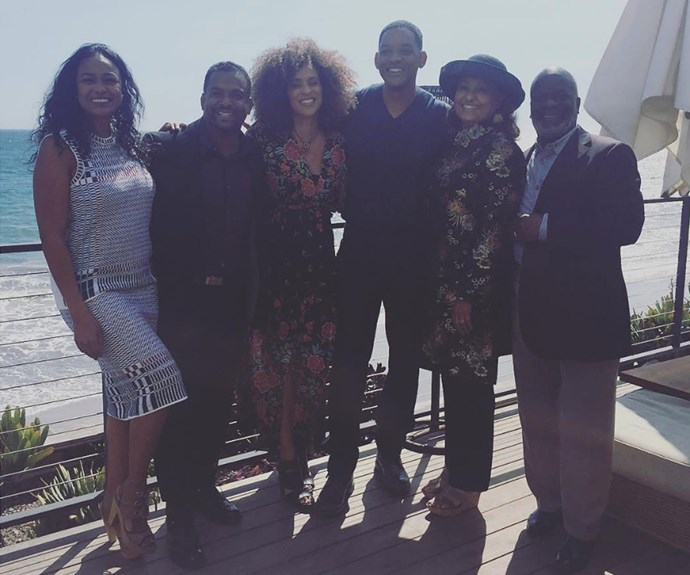 """Alfonso also shared a peek into the fun reunion, saying, """"Always amazing to spend an afternoon with my Fresh Prince family! Last May the show celebrated their 20th anniversary and after seeing these snaps, we're crossing our fingers for a reboot!"""