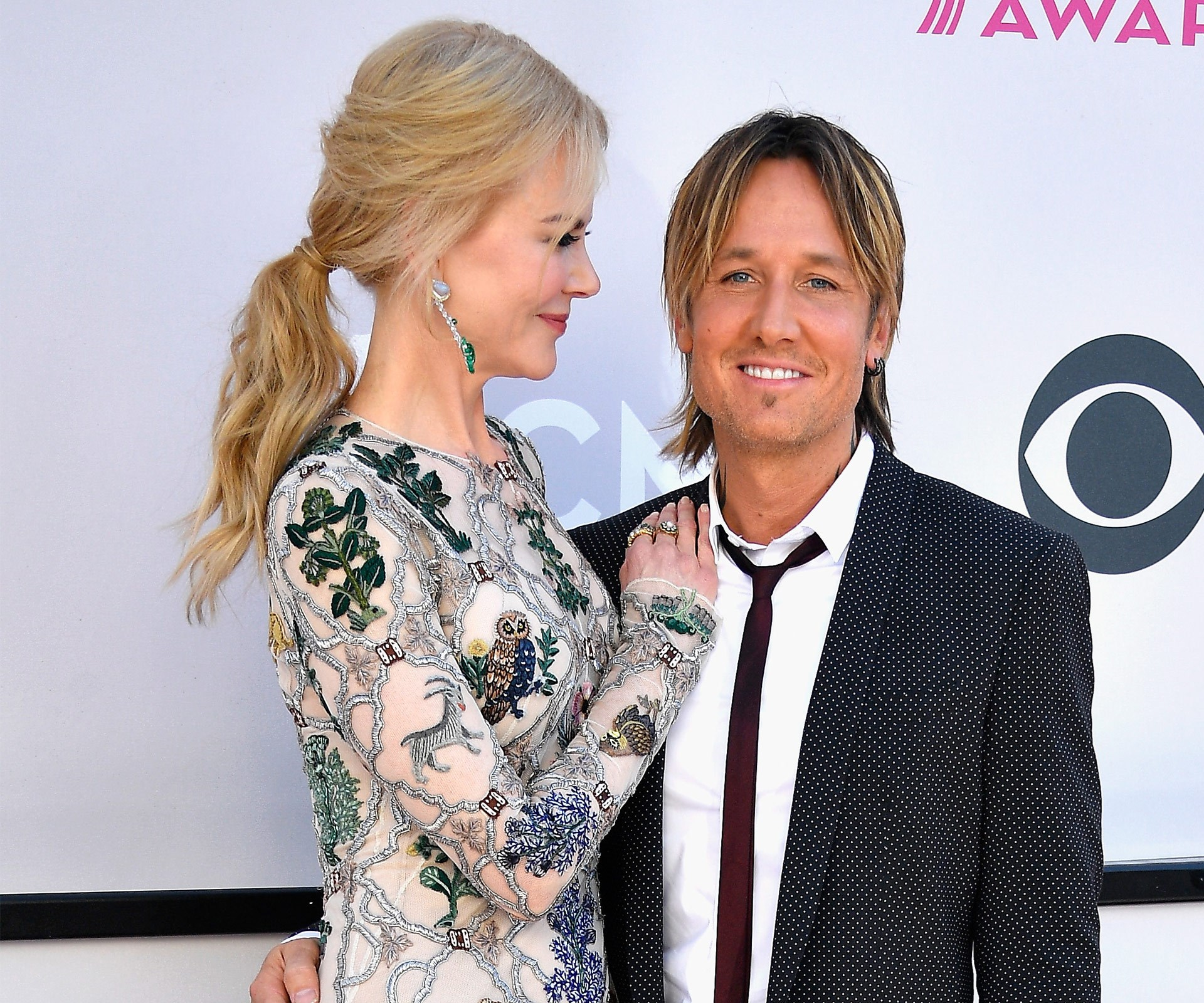 Joined by his leading lady Nicole Kidman, Keith Urban is up for a big night at the Academy of Country Music Awards.