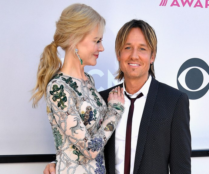 Joined by his leading lady Nicole Kidman, Keith Urban at this year's Academy of Country Music Awards.