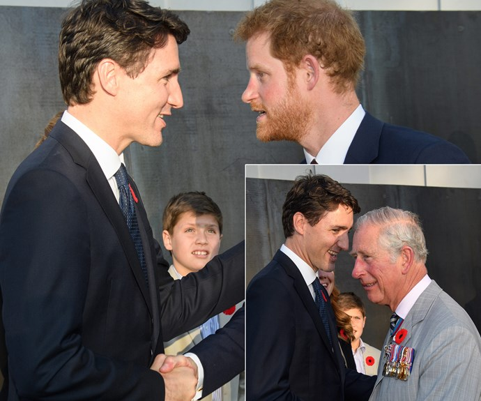 And it was clear the royals were completely smitten with the charming politician.