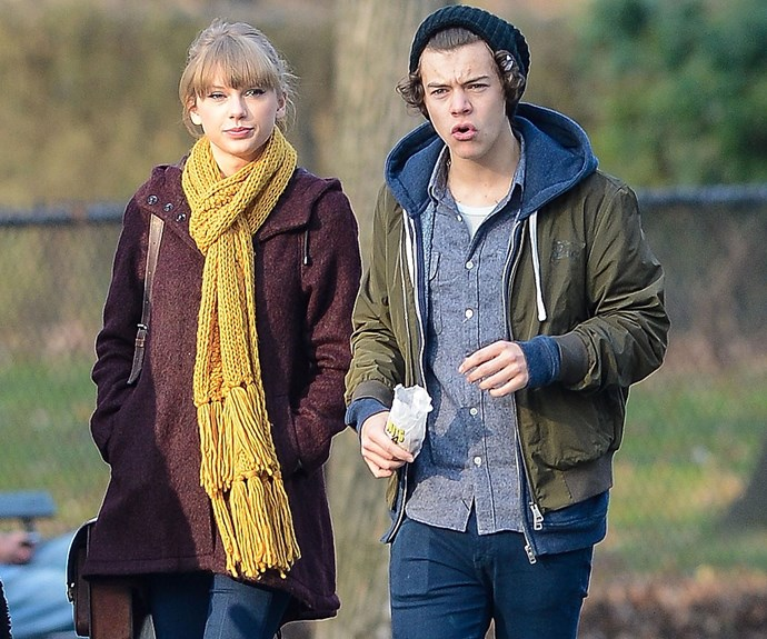 Tay and Harry spotted on a date in Central Park in 2012.