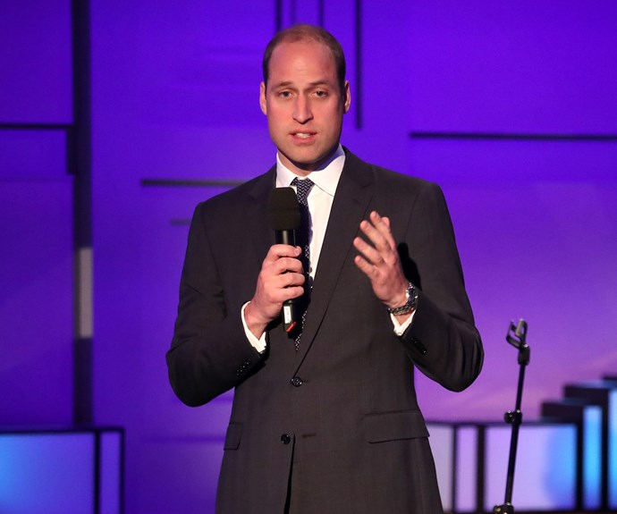 Prince William says he's incredible proud of the new documentary.