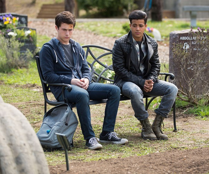 Clay and Tony, played by Christian Navarro.