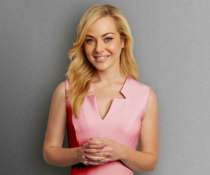 Gold Logie nominee Jessica Marais.
