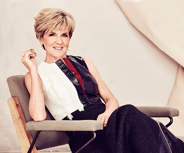 "**Julie Bishop: Minister for Foreign Affairs**  Australia's dynamic Foreign Minister, Julie Bishop, regularly rubs shoulders with some of the world's most influential and accomplished women. Think high-flyers such as human rights lawyer Amal Clooney, former US First Lady Michelle Obama or Burmese leader Aung San Suu Kyi. Yet when it comes to finding inspiration, our Foreign Minister looks much closer to home.   ""I met a group of young university undergraduates in New Guinea recently and they were some of the most inspiring people I have ever met,"" says Julie. ""They were all from small rural villages and had fought and scraped to give themselves an education. That's struggle. That's overcoming adversity. With such determination, I wonder what these women will be able do for their communities in the future.""  She sees similar promise in the faces of our Women of the Future entrants each year. ""They show the same innovation and hope,"" she says, ""and that's why I enjoy being a judge so much."""