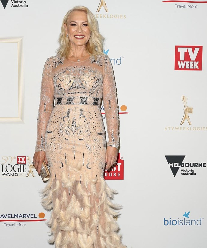 Hall Of Fame inductee Kerri-Anne Kennerley.