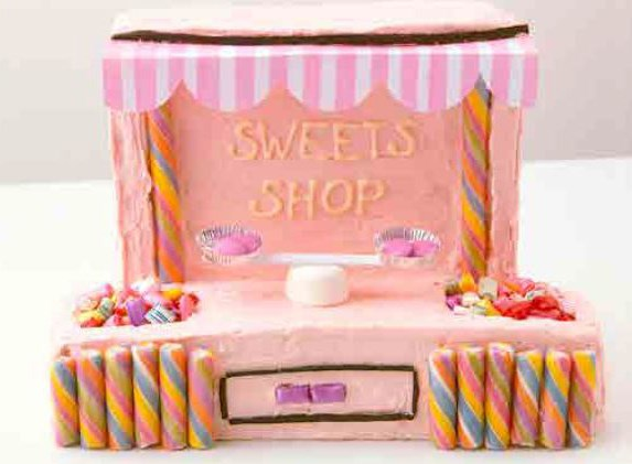 """**7.** Sweets shop. [Recipe here](http://www.foodtolove.com.au/recipes/sweets-shop-28374