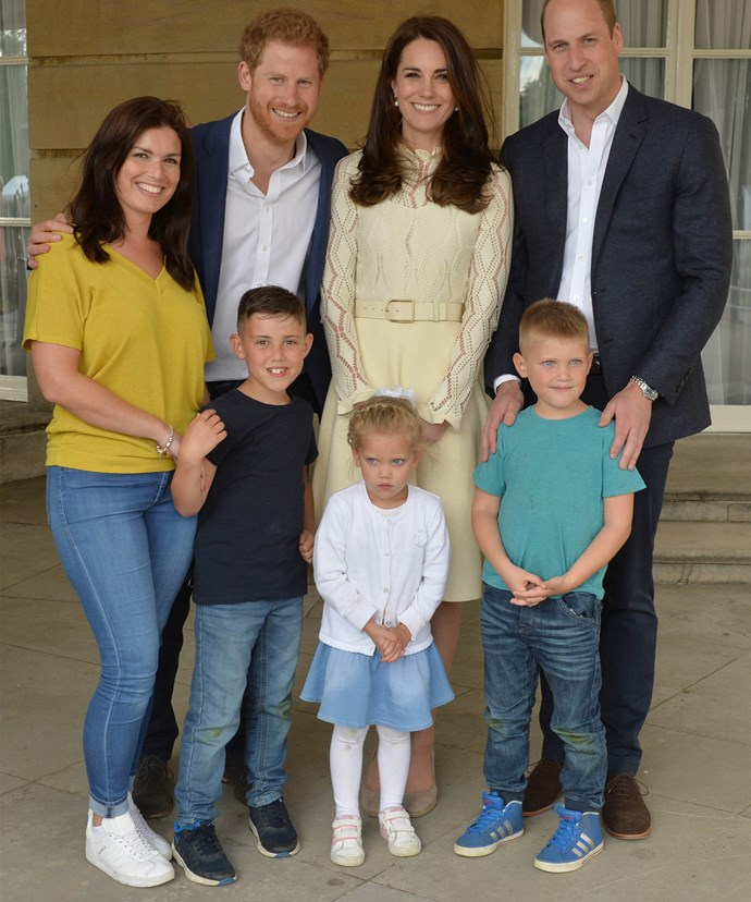 """The Duke and Duchess and Prince Harry hope the event will provide an opportunity for these children to broaden their support networks amongst other families with similar experiences."""