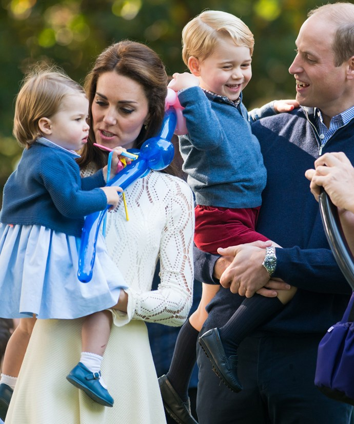 Catherine wore last year during the royal tour of Canada.