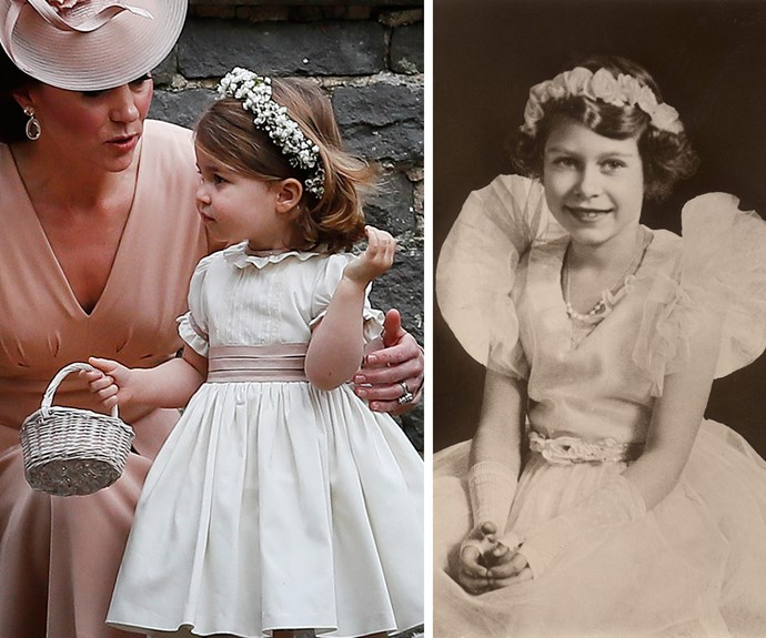 Of course royal fans can't help but compare the two-year-old to her Gan-Gan. They just look so alike!