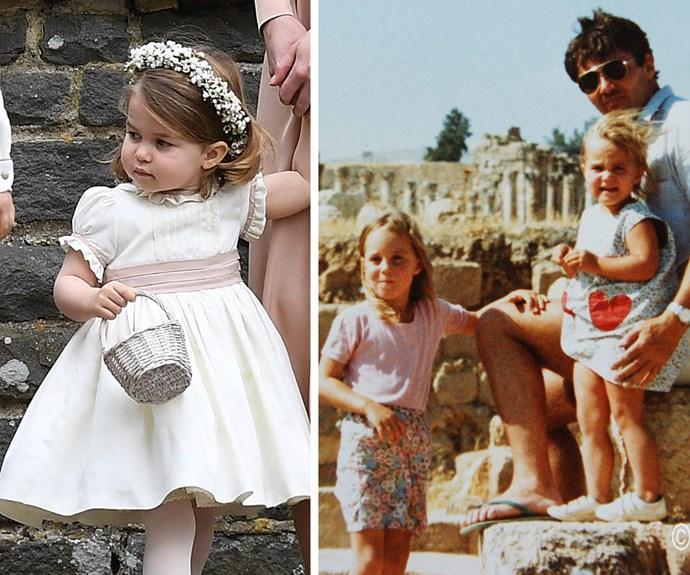 She really is Duchess Kate's mini-me.