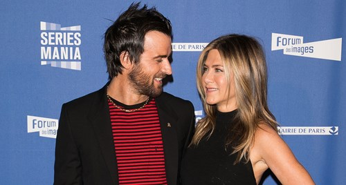 Justin Theroux hates being apart from Jennifer Aniston