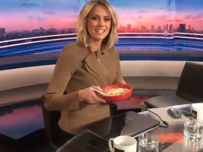 Sylvia goes for traditional porridge.