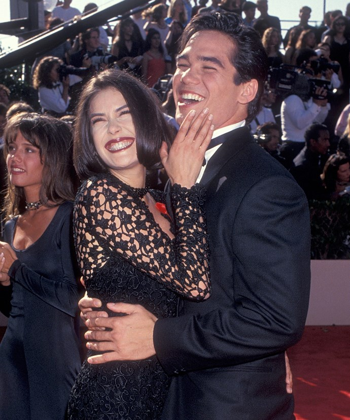 The pair portrayed one of TV's favourite couples on the '90s hit show *Lois & Clark: The New Adventures of Superman*.
