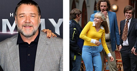 Russell Crowe has fallen for Love Child starlet