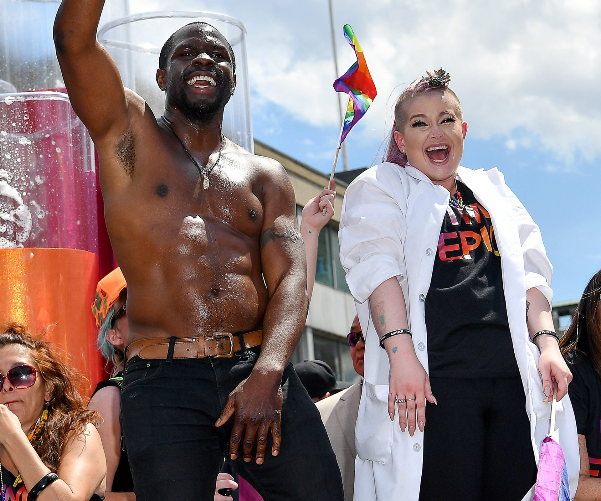 Kelly Osbourne Blames Starbucks for Forcing Her to Pee Herself During Pride