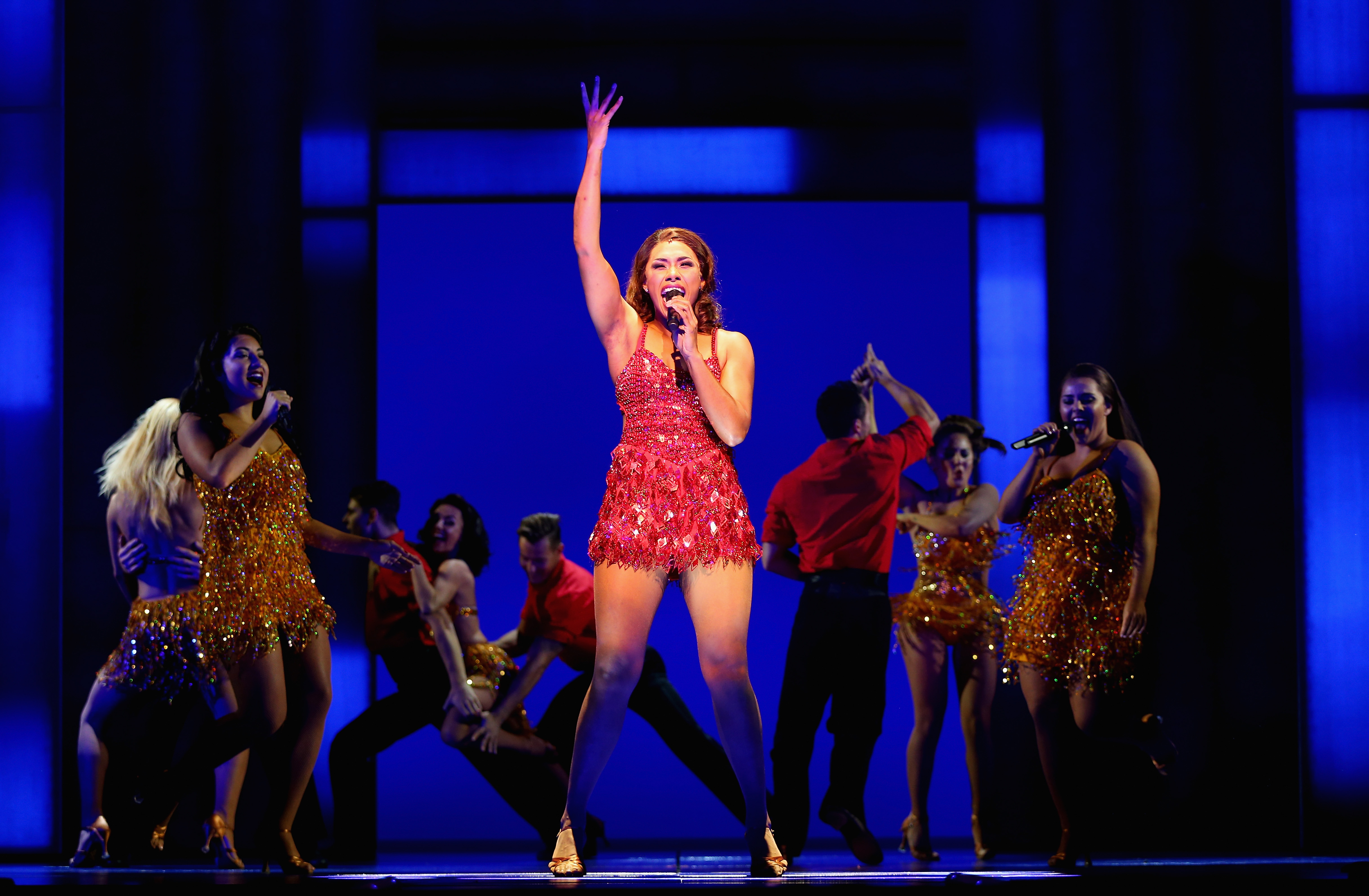 Paulini shines in *The Bodyguard Musical
