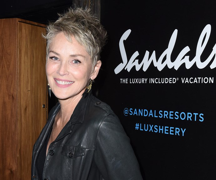 Judging by her ability to (literally) chop and change her look at a moment's notice, it's clear that when it comes to all things beauty, being on trend is a basic instinct for **Sharon Stone**. While we loved her messy, side-parted bob, this edgy pixie cut is making us look twice at our long lengths of split ends...