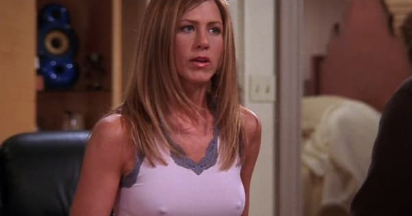 Jennifer Aniston addresses visible nipples on 'Friends'