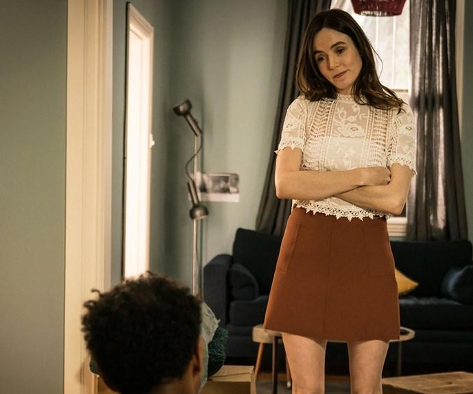 Valene King as AJ's ex-girlfriend Olivia.