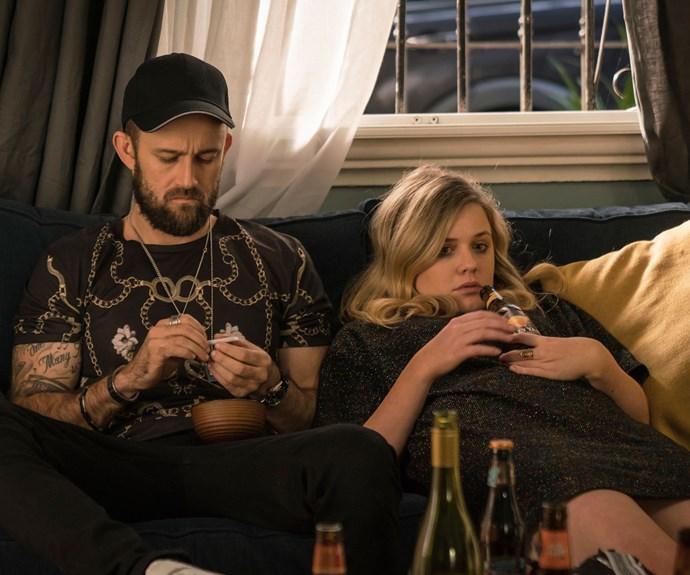 Harriet Dyer, alongside co-star Christiaan Van Vuuren, is great as Stevie.