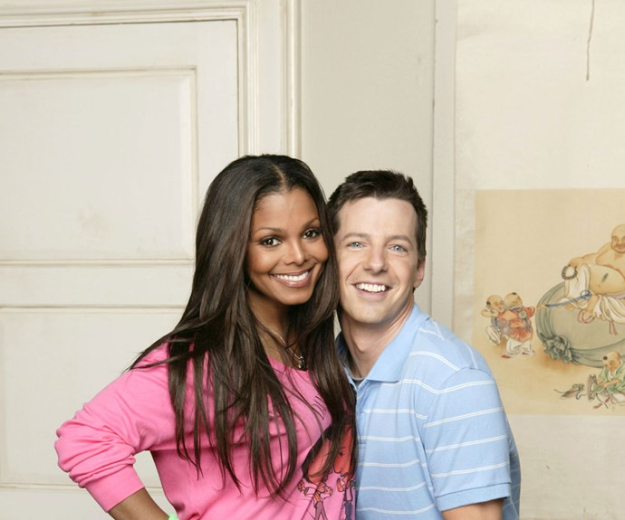 """**Janet Jackson as herself (Appearance: S7, E2):** Following Jack's brief run as Jennifer Lopez's backup dancer, Jennifer recommended Jack to Janet Jackson and set up an audition for him. Unfortunately Jack is forced to have a """"dance off"""" against another dancer called Artemus (Will Arnett) to win a position in Janet's squad. Ultimately Jack and Artemus are both fired when things turn personal between them when Karen reveals that her and Artemus were former lovers."""