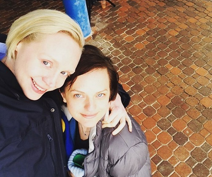 "Elisabeth and Gwendoline became close friends while filming. ""It's truly been an honor to watch this insanely talented actress work, my partner in crime and my friend for life,"" Elisabeth wrote on Instagram."