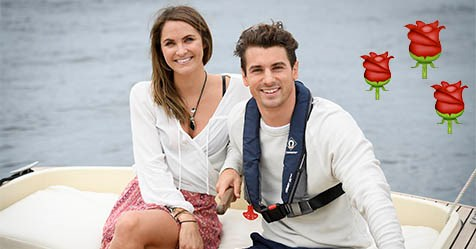Matty J and Laura Byrne's pre-Bachelor hook-up!