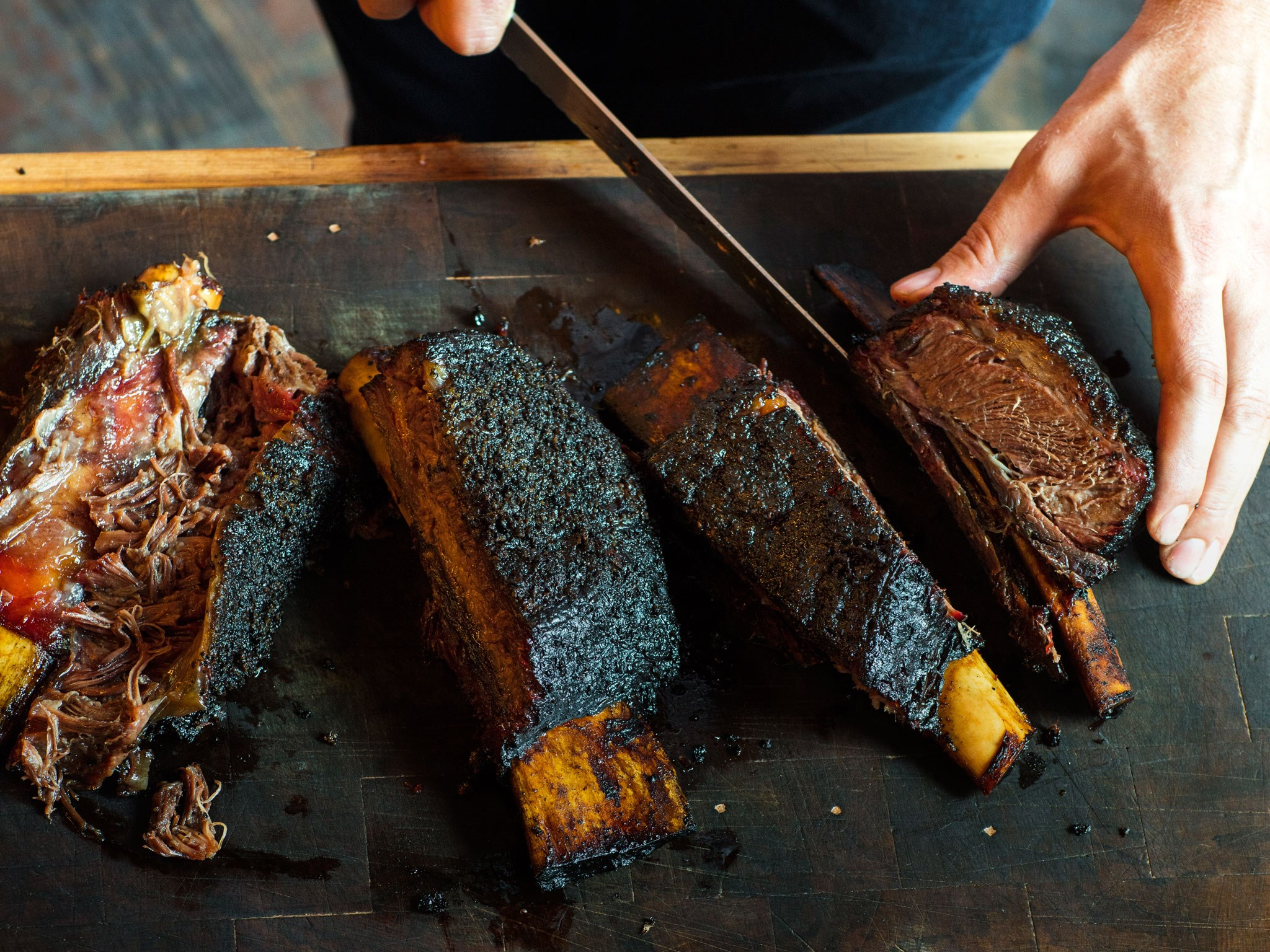 [Beef short ribs with smoked-bone sauce.](http://www.foodtolove.co.nz/recipes/beef-short-ribs-with-smoked-bone-sauce-35845)