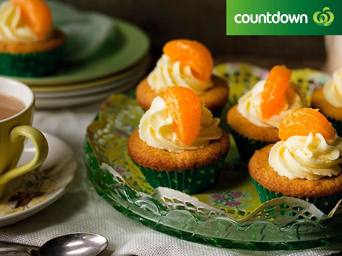 """Try these [frosted mandarin cakes](http://www.foodtolove.co.nz/recipes/frosted-mandarin-cakes-36379 target=""""_blank"""") for the perfect day time snack"""